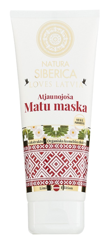 Natura Siberica Loves Latvia masca regeneratoare par