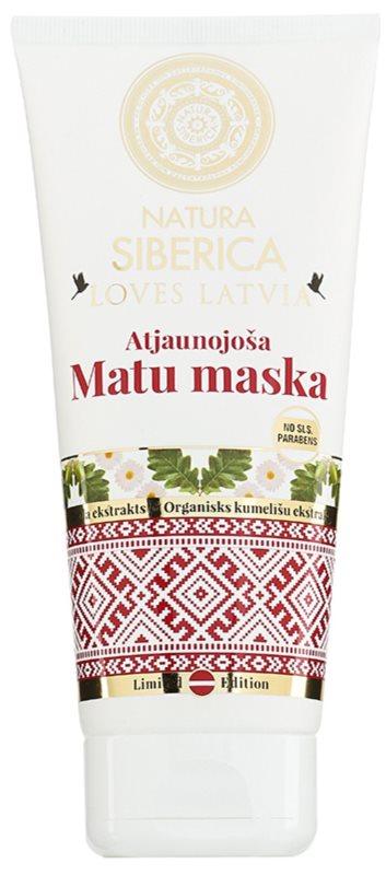 Natura Siberica Loves Latvia obnovitvena maska za lase