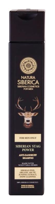 Natura Siberica For Men Only shampoo antiforfora