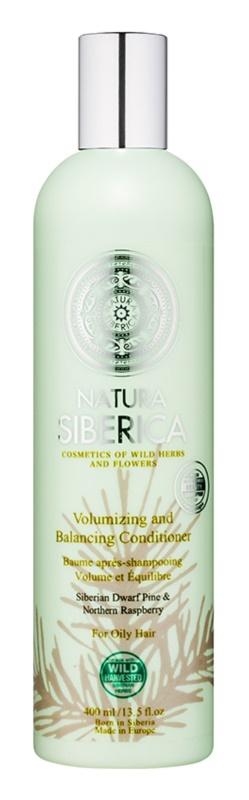 Natura Siberica Natural & Organic balzam za volumen za mastne lase