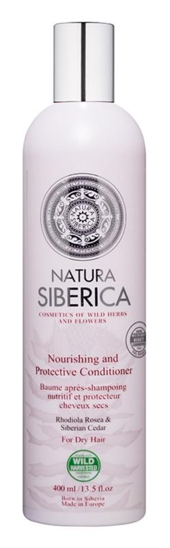 Natura Siberica Natural & Organic der nährende Conditioner für trockenes Haar