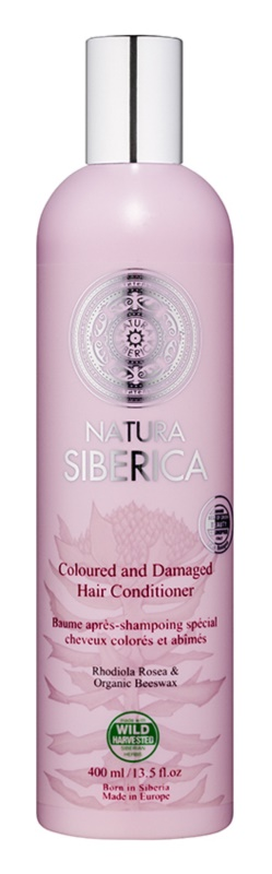 Natura Siberica Natural & Organic Conditioner For Damaged And Colored Hair