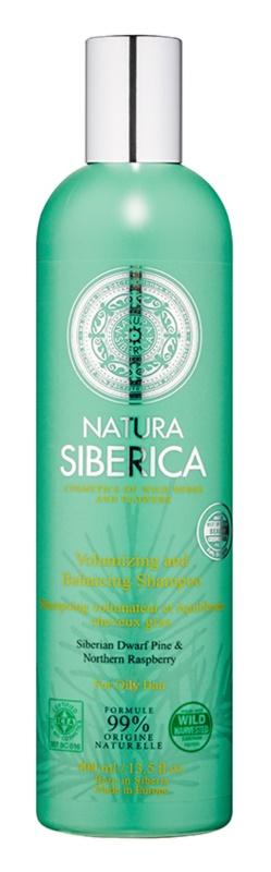 Natura Siberica Natural & Organic sampon pentru volum pentru par gras
