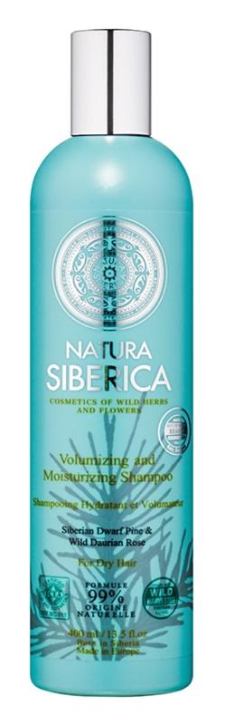 Natura Siberica Natural & Organic szampon nawilżający do włosów suchych
