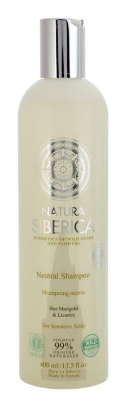 Natura Siberica Neutral champô para o couro cabeludo sensível
