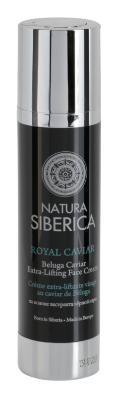 Natura Siberica Royal Caviar feszesítő arckrém kaviárral