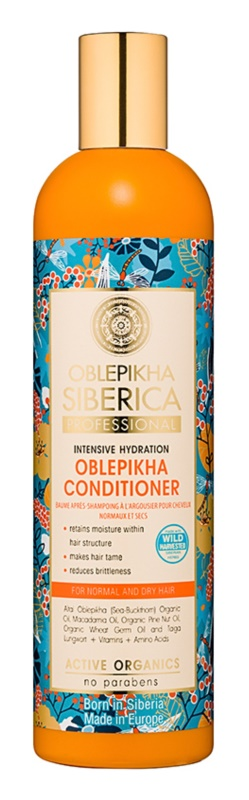 Natura Siberica Rakytník hydratační kondicionér pro normální až suché vlasy