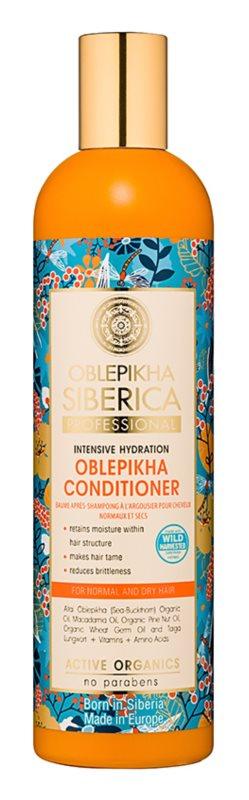 Natura Siberica Sea-Bucktorn feuchtigkeitsspendender Conditioner Für normales bis trockenes Haar