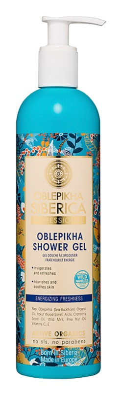 Natura Siberica Sea-Bucktorn Juicy Shower Gel