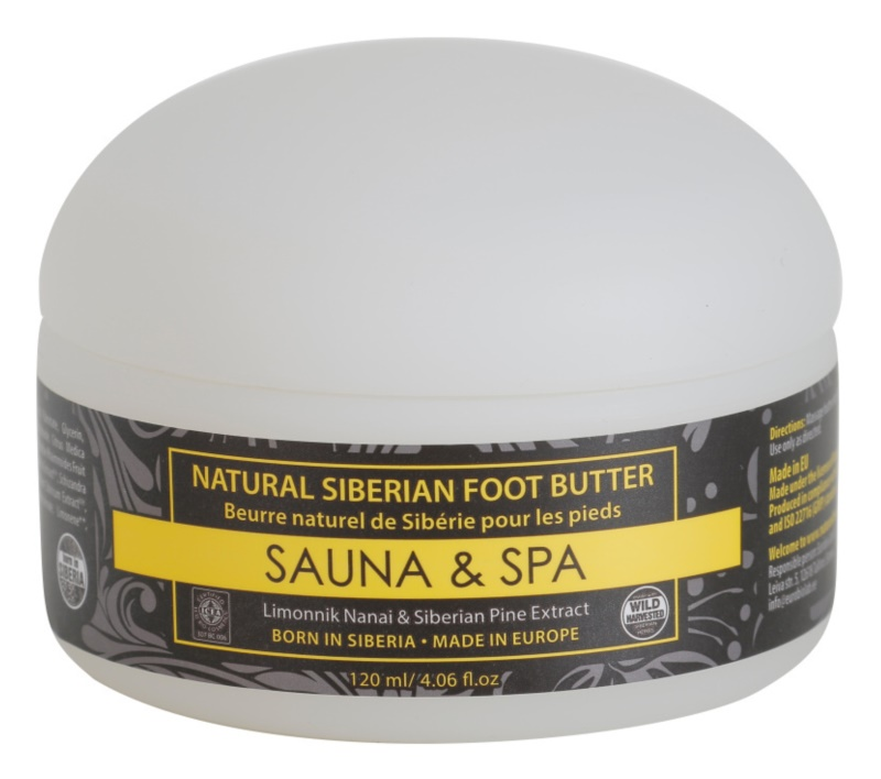 Natura Siberica Sauna and Spa Butter für Füssen