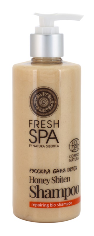Natura Siberica Fresh Spa Bania Detox șampon restaurare naturală