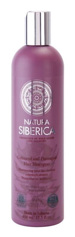 Natura Siberica Wild Herbs and Flowers szampon do włosów farbowanych i zniszczonych