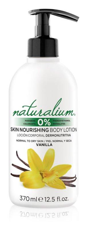 Naturalium Fruit Pleasure Vanilla výživné telové mlieko