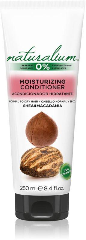 Naturalium Nuts Shea and Macadamia vlažilni in gladilni balzam za normalne do suhe lase