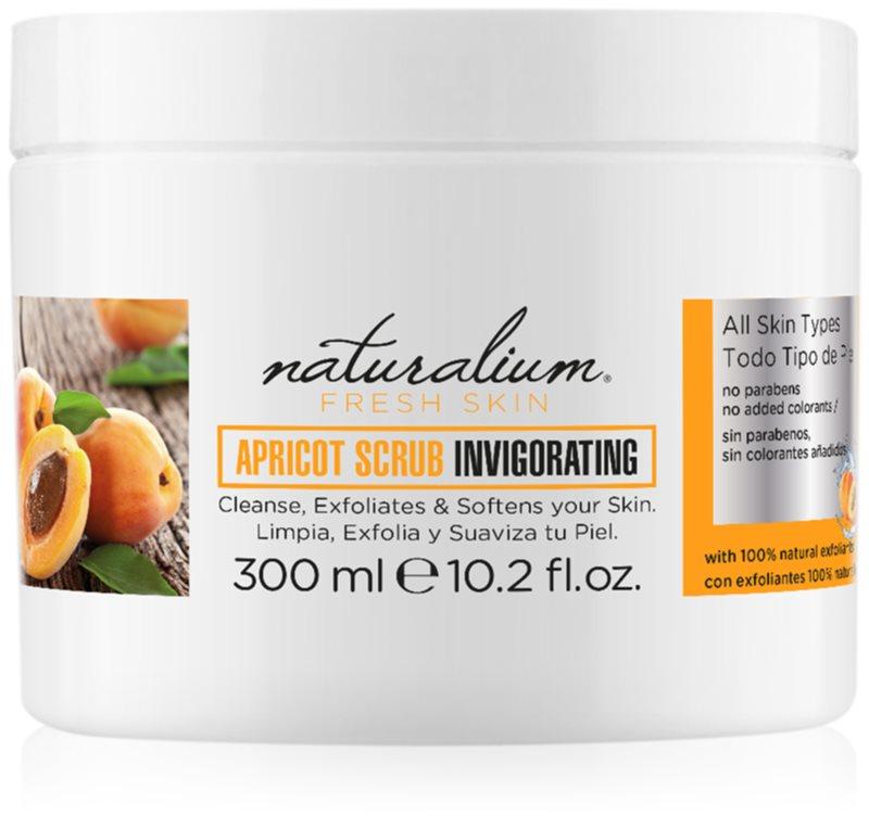 Naturalium Fresh Skin Apricot povzbudzujúci telový peeling