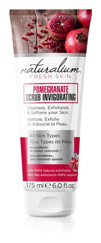 Naturalium Fresh Skin Pomegranate Resurfacing Body Scrub