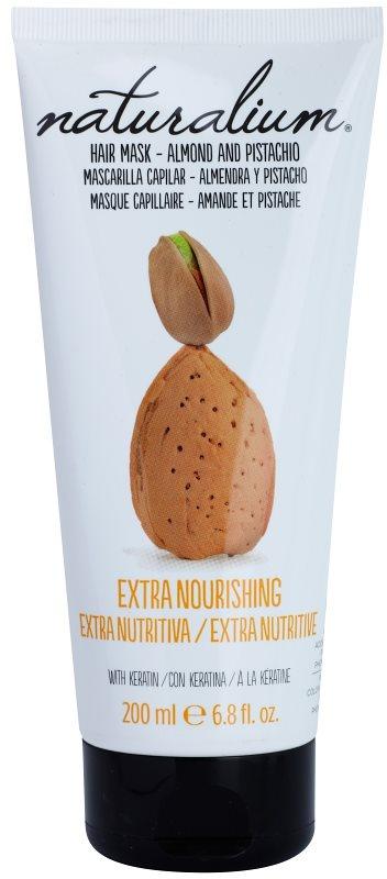 Naturalium Nuts Almond and Pistachio tápláló maszk keratinnal