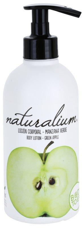 Naturalium Fruit Pleasure Green Apple vyživující tělové mléko