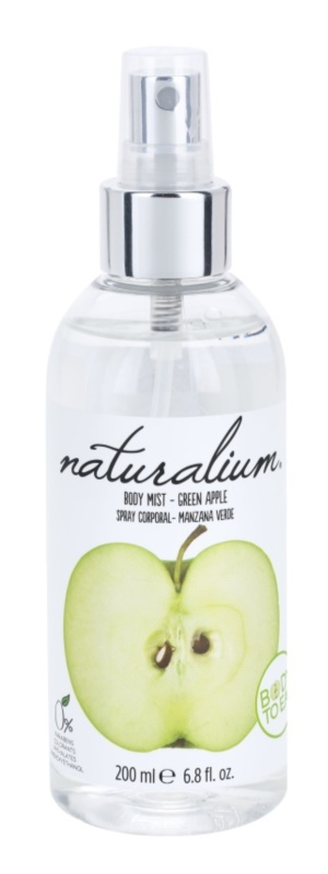 Naturalium Fruit Pleasure Green Apple osviežujúci telový sprej