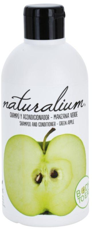 Naturalium Fruit Pleasure Green Apple champô e condicionador