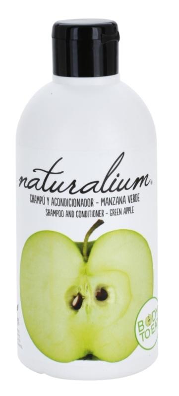 Naturalium Fruit Pleasure Green Apple šampon a kondicionér