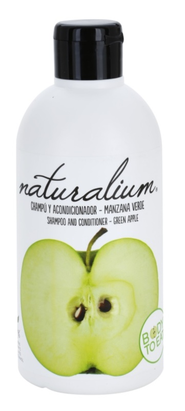 Naturalium Fruit Pleasure Green Apple Shampoo And Conditioner