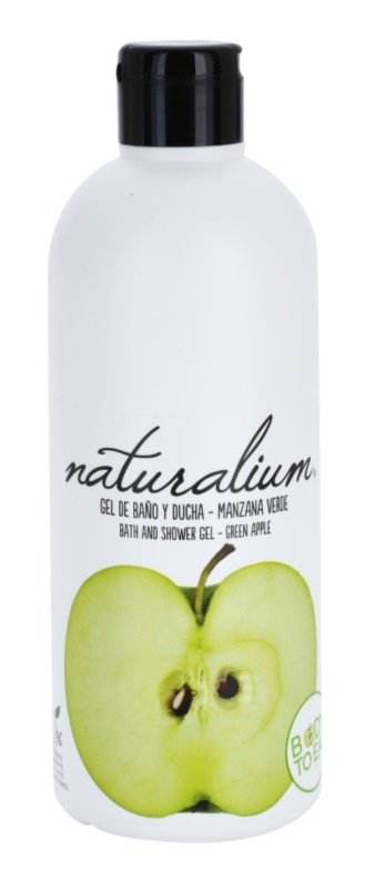 Naturalium Fruit Pleasure Green Apple gel de ducha nutritivo
