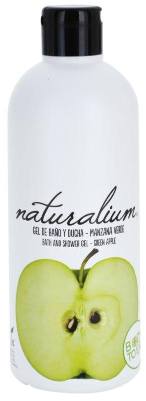 Naturalium Fruit Pleasure Green Apple hranilni gel za prhanje