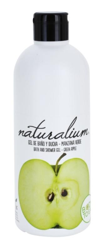Naturalium Fruit Pleasure Green Apple vyživující sprchový gel