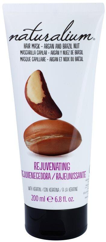 Naturalium Nuts Argan and Brazil Nut vlažilna maska za lase s keratinom
