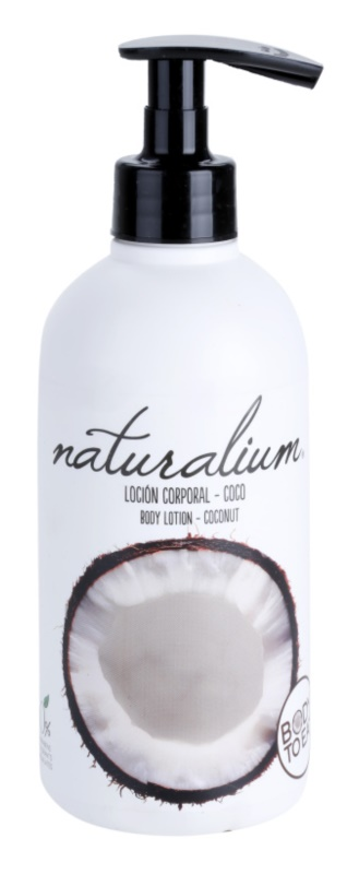 Naturalium Fruit Pleasure Coconut поживне молочко для тіла