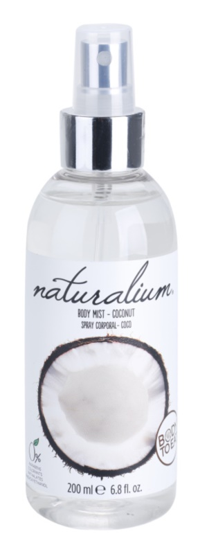 Naturalium Fruit Pleasure Coconut odświeżający spray do ciała