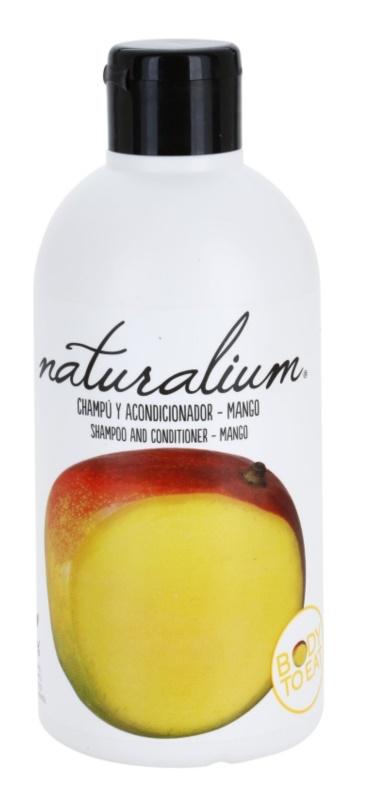 Naturalium Fruit Pleasure Mango Shampoo mit Conditioner