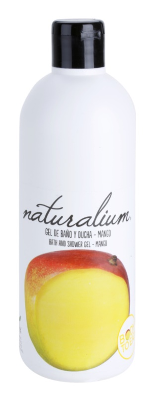 Naturalium Fruit Pleasure Mango hranilni gel za prhanje