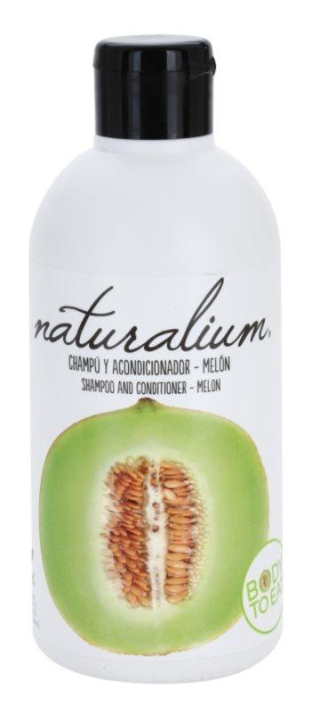 Naturalium Fruit Pleasure Melon sampon és kondicionáló