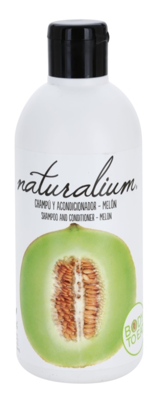 Naturalium Fruit Pleasure Melon szampon i odżywka