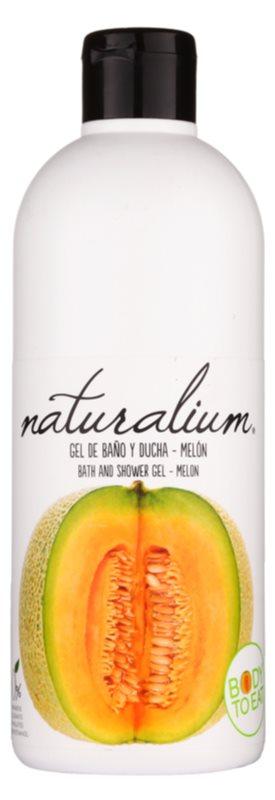 Naturalium Fruit Pleasure Melon gel de dus hranitor