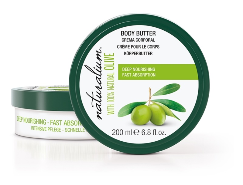 Naturalium Olive vyživujúce telové maslo
