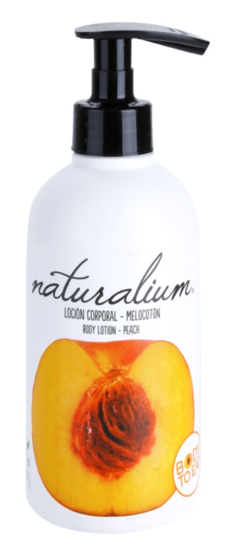 Naturalium Fruit Pleasure Peach Nourishing Body Milk