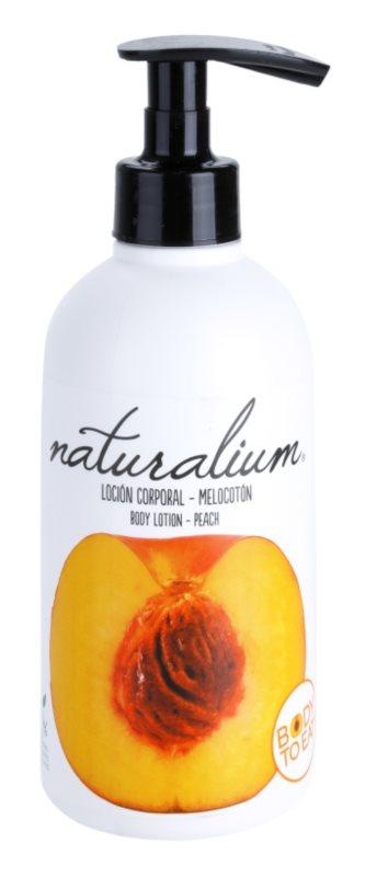 Naturalium Fruit Pleasure Peach vyživující tělové mléko