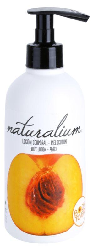 Naturalium Fruit Pleasure Peach поживне молочко для тіла