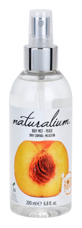 Naturalium Fruit Pleasure Peach odświeżający spray do ciała