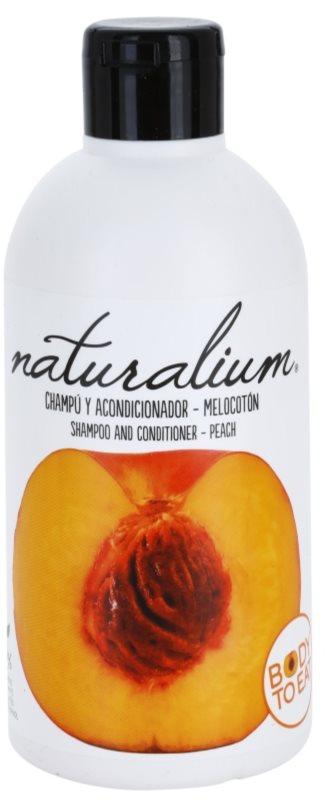 Naturalium Fruit Pleasure Peach шампоан и балсам