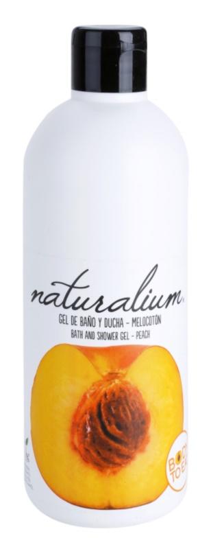 Naturalium Fruit Pleasure Peach gel de banho nutritivo
