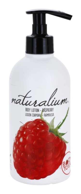 Naturalium Fruit Pleasure Raspberry поживне молочко для тіла
