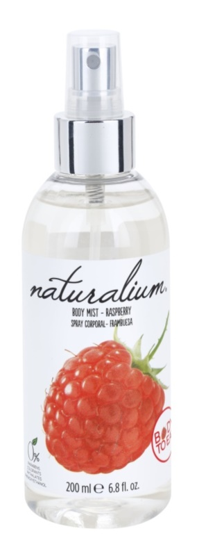 Naturalium Fruit Pleasure Raspberry osvežujoče pršilo za telo