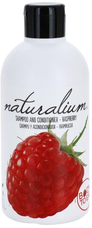 Naturalium Fruit Pleasure Raspberry champô e condicionador