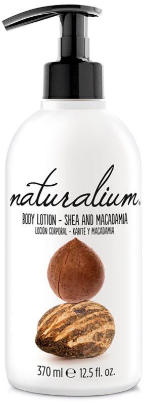 Naturalium Nuts Shea and Macadamia regenerační tělové mléko