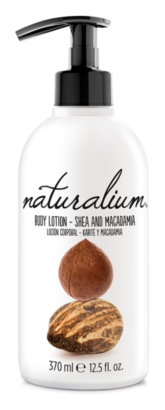 Naturalium Nuts Shea and Macadamia regenerierende Körpermilch