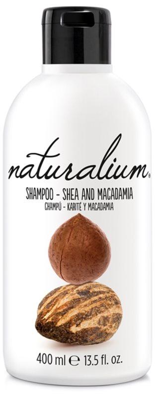 Naturalium Nuts Shea and Macadamia відновлюючий шампунь для сухого або пошкодженого волосся
